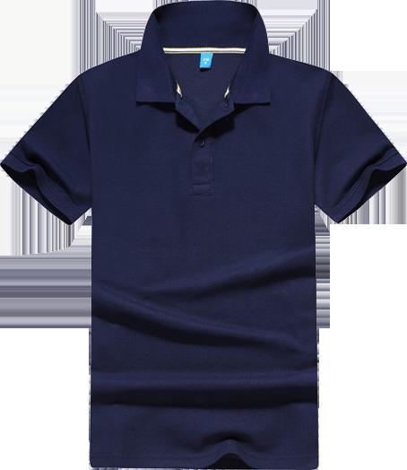纯棉珠地短袖POLO衫