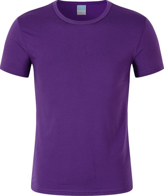 莱卡棉圆领T恤